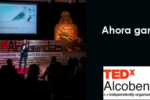 "TEDx Alcobendas: ""Ahora ganas tú"" Alexandra Tapia"